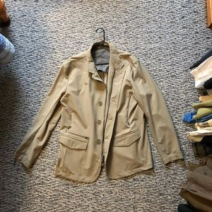 Lululemon Tan Blazer Jacket